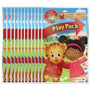 PBS Kids' Daniel Tiger's Neighborhood Grab and Go Play Packs (Pack of 12) by Bendon
