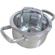 Nemesacél fazék üveg fedővel 2,7 liter LTSS1810