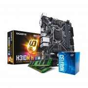 Combo Actualización Intel Celeron G4900 Mother H310 4gb-Negro