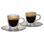 Set cesti sticla Espresso 55 ml 2 buc/set Tchibo