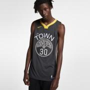 Maillot connecté Nike NBA Stephen Curry Statement Edition Authentic (Golden State Warriors) pour Homme - Noir