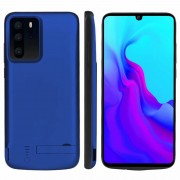 5000mAh All-wrapped Backup Battery Charger Case Cover for Huawei P30 Pro - Blue