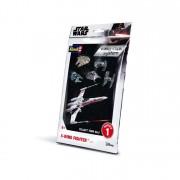 Revell Star Wars X-Wing Fighter easy click makett 1101