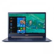 Лаптоп Acer Swift 5 SF514-52T-840G, Blue, 14.0, Intel Core i7-8550U, 256GB SSD, NX.GTMEX.008