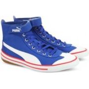 Puma 917 FUN Mid IDP Canvas Shoes For Women(Blue)