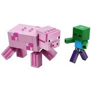LEGO Minecraft 21157 BigFig malac Zombibabával