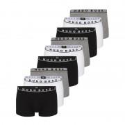 Hugo Boss 9-pack trunk cotton stretch boxershorts - wit/grijs/zwart