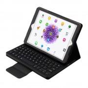 Shop4 - iPad 9.7 (2017) Toetsenbord Hoes - Bluetooth Keyboard Cover Zwart
