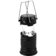 Favourite Deals LED Solar Emergency Light Lantern + USB Mobile Charging point 3 Power Source Solar Battery ( Black )