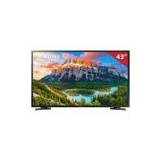 Smart TV LED 43 UN43J5290 Samsung, Full HD HDMI USB e Wi-Fi Integrado