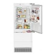 Combină frigorifică încorporabilă Liebherr ECBN 5066, 379 L, NoFrost, SuperCool, SuperFrost, IceMaker, BioFresh, Display, Control electronic, Siguranţă copii, H 203 cm, A++