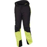 Macna Iron Pantalones textil Negro Amarillo L