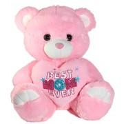 "Calplush Mother's Day, Best Mom Ever Bear Plush - 7"" Pink"
