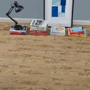 [neu.haus]® Suelo de vinilo - Láminas de PVC (1,114m² - roble natural) muy estructurado planchas tablas