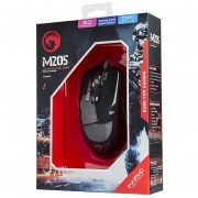 Marvo M205 USB Mouse Gamer Gaming Negro
