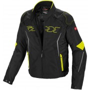 Spidi Tronik Tex Motorcycle Textile Jacket Black Yellow L