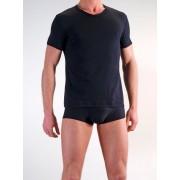 Olaf Benz RED 1202 V Neck Short Sleeved T Shirt Black 1-05844/8000 NOS