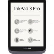 "eBook Reader PocketBook Inkpad 3 Pro, 7.8"", 16GB, rezistent la apa, WiFi, Bluetooth, husa protectie inclusa, Gri metalizat"