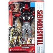 Transformers The Last Knight Autobots Unite Flip and Change Autobot Hot Rod C3537