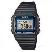 Reloj de los hombres de CASIO W-215H-8AVDF - negro + azul (sin la caja)