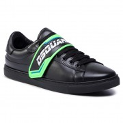 Sneakers DSQUARED2 - New Tennis SNM0056 01500001 M603 Nero/Verde Fluo