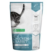 Natures Protection Kitten With Chicken & Rabbit 100 G
