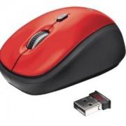 Мишка TRUST Yvi Wireless Mini Mouse Червена