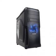 Skrinka Zalman MidTower Z3 Plus, mATX/ATX, priehľadný bok, bez zdroja, čierna