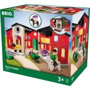 BRIO Grote paardenstal - 33791