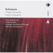 Martha Argerich-Gideon Kremer-Chamber Orchestra of Europe-Nikolaus Harnoncourt - Schumann:Piano Concert/Violin Concerto (CD)
