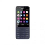 Nokia 230-smartphone (7,11 cm (2,8 inch), 16 MB, 2 megapixels, besturingssysteem Series 30+, Dual Sim) middernachtblauw