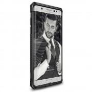 Husa Samsung Galaxy Note 7 Fan Edition Ringke MAX GUN METAL + BONUS Ringke Invisible Defender Screen Protector