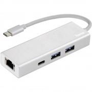 Hama 4 ulaza USB 3.0 Hub Srebrna