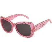 LOF Cat-eye Sunglasses(Pink)