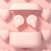 SABBAT X12 Pro TWS True Wireless Bluetooth 5.0 Headset Earphone with Charging Box - Pink