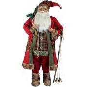 Deda Mraz 120cm sa štapom, zvonima i dzakom 740606