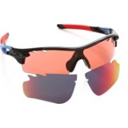 Oakley RADARLOCK PATH Round Sunglass(Red, Blue)