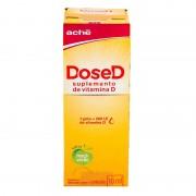 Dose D - Suplemento de Vitamina C Sabor Maça Verde c/ 10 ml