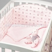Fluffymoon Комплект в кроватку Fluffymoon Lovely Baby (6 предметов)