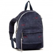 Раница TOMMY JEANS - Tjw Logo Tape Mini Backpack Cord AW0AW091010 Тъмносин