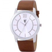true colors simple sober analong watch for men with 6 month warrenty