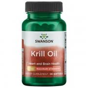 Swanson Krillový Olej (Krill Oil) 1000 mg 30 kapslí