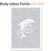 Šablon za Body Tattoo B-068