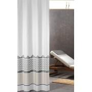 Sealskin Marrakech Silver zasłona prysznicowa tekstylna 180x200cm 235281318