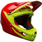 Bell Transfer-9 Downhill Casco Rojo Amarillo S