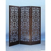 Shilpi Handmade Awesome Look Or Standard Size Wooden Partition in Floral Design Decor Panel (3)
