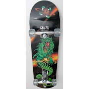 Skateboard Spartan Dragon - cu placa biconcava multistrat