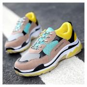Zapatos Casual Fashion-Cool Para Hombres-Amarillo