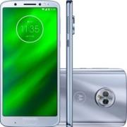 "Telefon Motorola Moto XT1926-3 Moto G6 Plus, Procesor Snapdragon 630 2.2GHz, IPS LCD Capacitive touchscreen 5.9"", 4GB RAM, 64GB Flash, Camera 12 + 5MP, Wi-Fi, 4G, Dual Sim, Android (Argintiu) + Cartela SIM Orange PrePay, 6 euro credit, 6 GB internet 4G, 2"