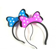Minnie Mouse Bow Light Hair Band